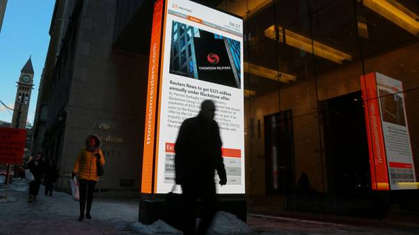 Thomson Reuters closes deal with Blackstone