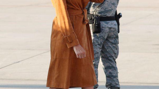 سيدة أمريكا الأولى ميلانيا ترامب تقوم بجولة أفريقية تشمل مصر