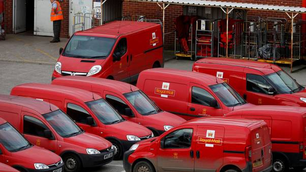 Royal Mail shares tumble to record low, deepening losses to £1.3 billion