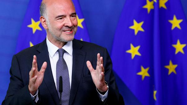 EU's Moscovici says Italians know euro protects them