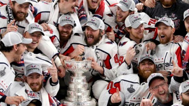 NHL: sa malédiction disparue, Washington veut confirmer