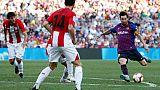Ligue des champions: capitaine Messi en reconquête à Wembley