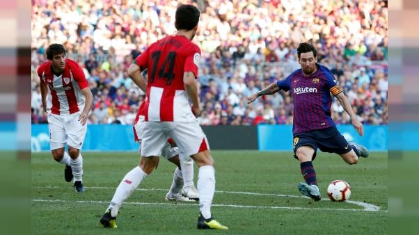 Ligue des champions: capitaine Messi en reconquête à Wembley