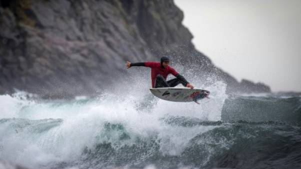 Lofoten Masters: Gil Ferreira, l'extrême surfeur brésilien