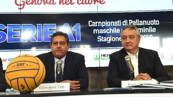 Pallanuoto: Serie A, evento per Genova