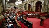 Catalan parliament refuses to suspend pro-independence politicians