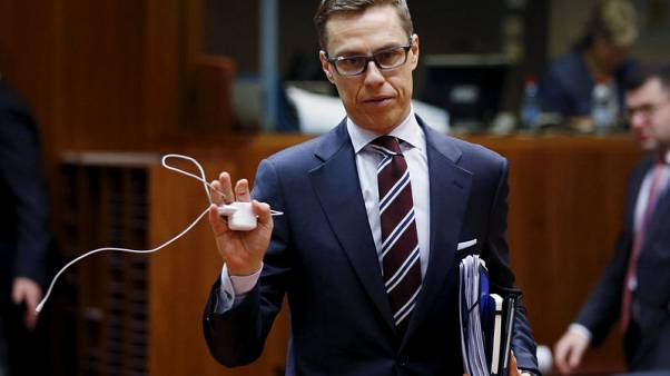 Former Finland premier Stubb bids to be EU chief executive