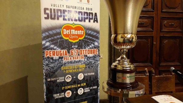 Supercoppa Volley al PalaBarton Perugia