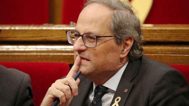 الحكومة الإسبانية ترفض إنذار قطالونيا بشأن حق التقرير المصير