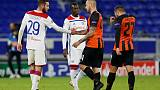 Lyon rebound from two down behind closed doors to earn draw
