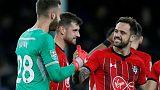Southampton beat Everton on penalties in League Cup