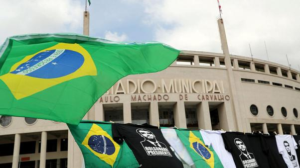 Brazil investors cheer as support rises for Bolsonaro's election bid
