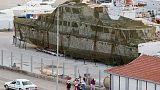 Former Yugoslav President Tito's tatty yacht goes on sale
