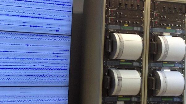 Terremoto 3.1 al largo della Calabria