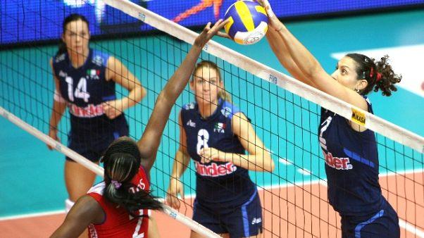 Palavolo donne, Italia-Turchia 3-0