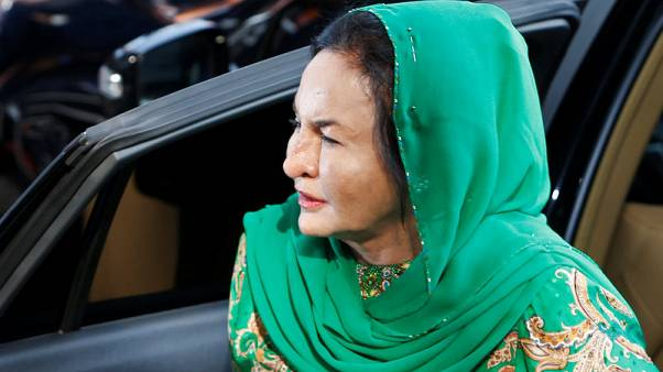 Wife of former Malaysian PM Najib arrested by anti-graft agency