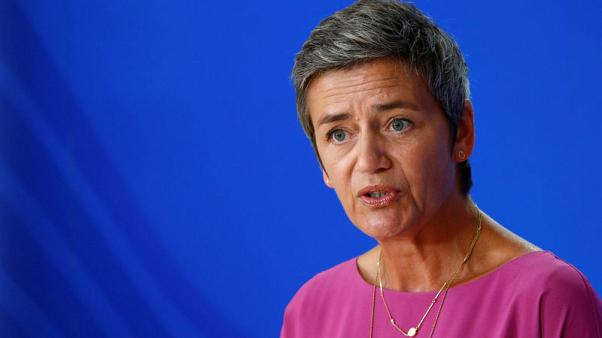 EU's Vestager says Danish government not keen to back her for new mandate