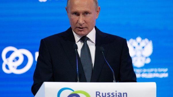 بوتين: روسيا قد تزيد إنتاج النفط بما يصل إلى 300 ألف ب/ي