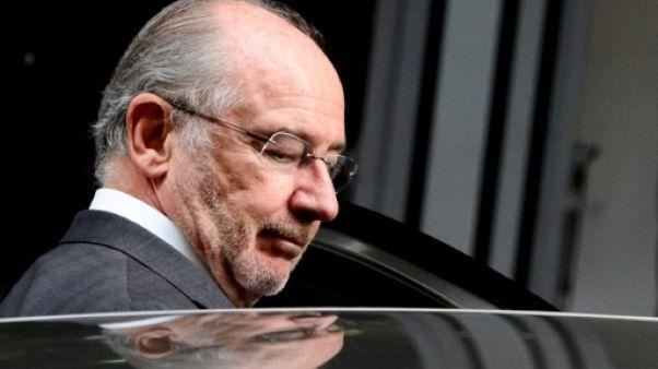 L'ancien directeur du FMI Rodrigo Rato à Madrid, le 16 octobre 2014