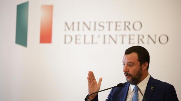 Salvini, Ue? Non alzo toni né calici