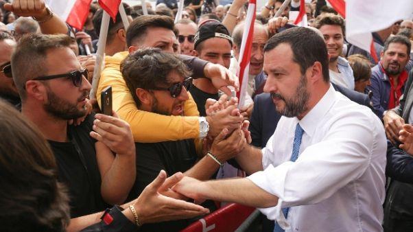 Salvini, reddito cittadinanza è coperto