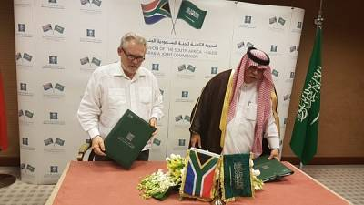 Minister Davies concludes Visit to Saudi Arabia