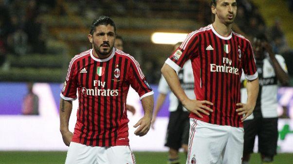 Milan: Gattuso, Ibra? Auguri per 37 anni