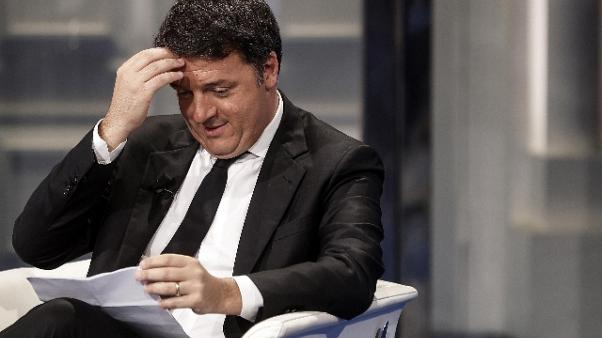 Renzi, non mi candido a segreteria Pd