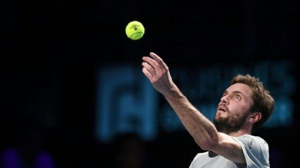 Tennis: Simon gâche quatre balles de match à Tokyo, Paire trop tendre