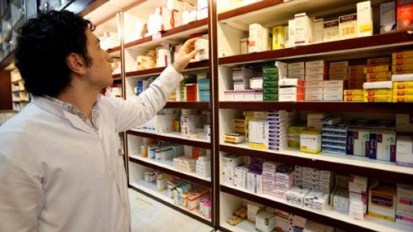 Un pharmacien iranien le 11 septembre 2018 à Téhéran