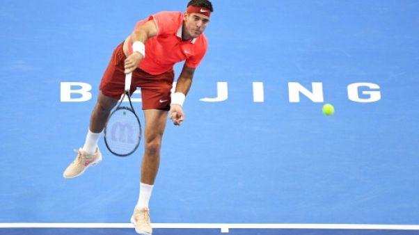 Tennis: coup double pour Del Potro, en quarts à Pékin et qualifié pour le Masters