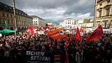 Far-right, opponents stage rival rallies on German unity day