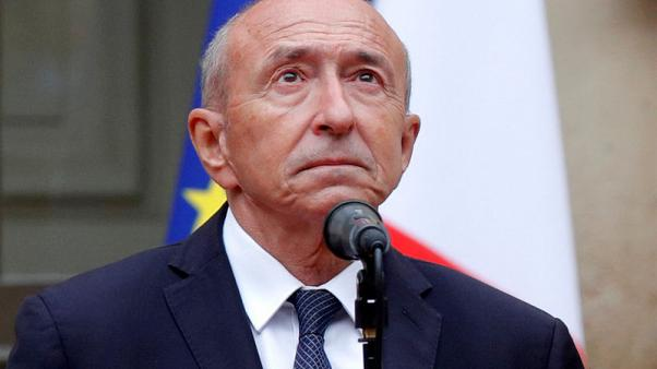 Cracks show in Macron's mettle as old ally Collomb becomes third minister to quit