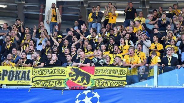 Juve-Young Boys: arrestati due svizzeri