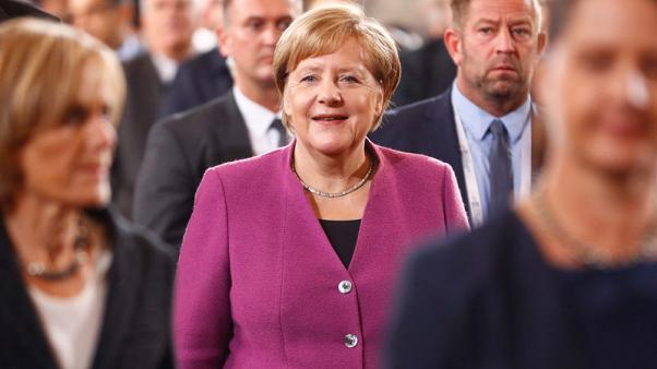 Merkel begins visit to Israel with Iran, Palestinians on agenda