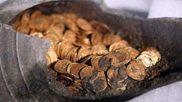 Pulite le monete d'oro, sono mille