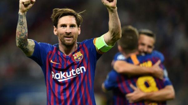 Ligue des champions: Messi des grands soirs, victoire
