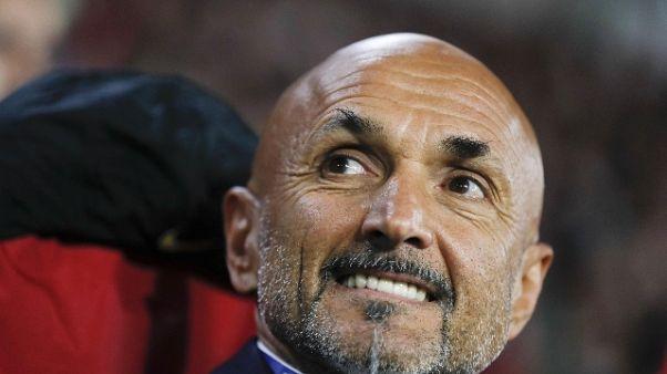 Spalletti, Inter ha margini di crescita