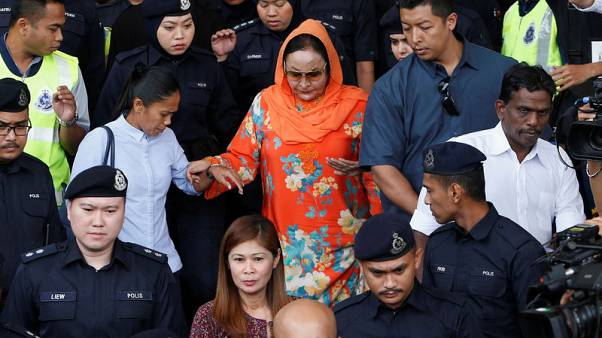 Wife of Malaysian ex-PM Najib charged with money laundering