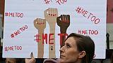 Une manifestation du mouvement #MeToo, le 12 novembre 2017 à Hollywood