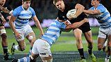 Rugby Championship: Goodhue titulaire avec les Blacks contre l'Afrique du Sud