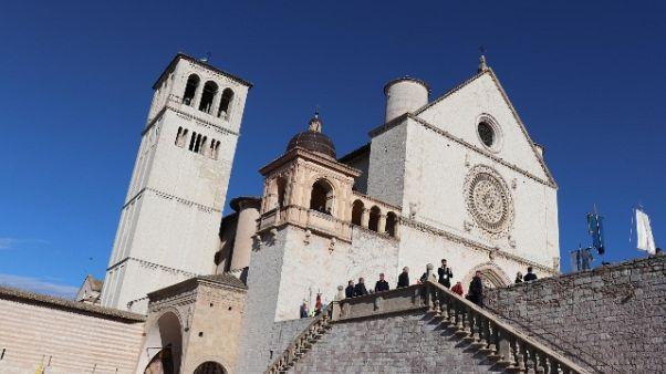 Conte ad Assisi per festa S. Francesco