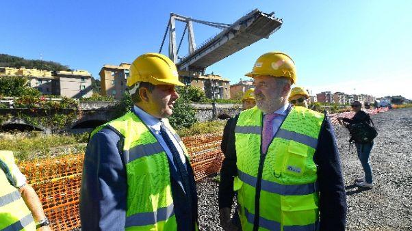 Crollo ponte: Toti, Bucci è commissario