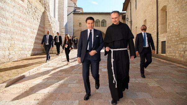 Custode Assisi, nuovi cantieri utopia