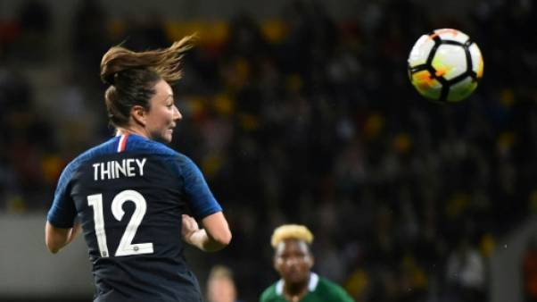 """Bleues: Gaëtane Thiney, l'ex-bannie boostée par """"une envie décuplée de jouer"""""""