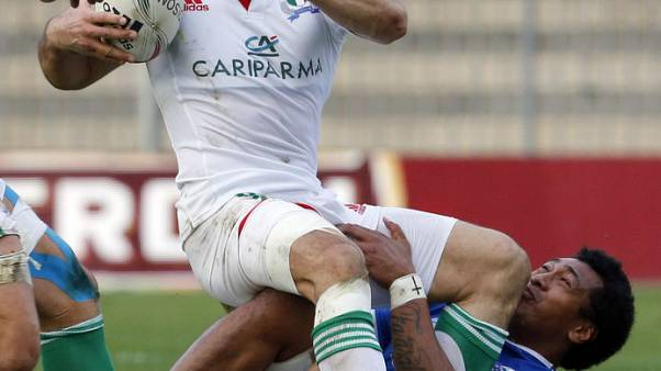 Rugby-Seven week ban for Toulouse's Faasalele for dangerous play