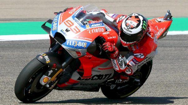 Moto:Lorenzo, deciderò domani se correre