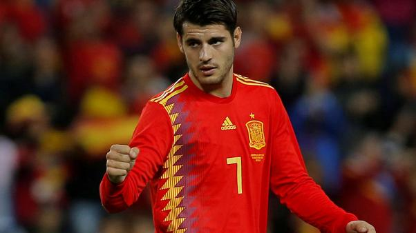 Morata and Koke back in Spain squad, Costa left out