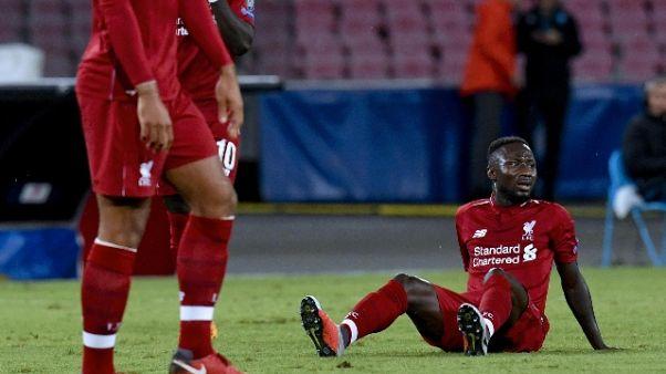 Champions: Keita dimesso da ospedale