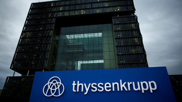 Thyssenkrupp to hold about 30 percent stake in spin-off group - union